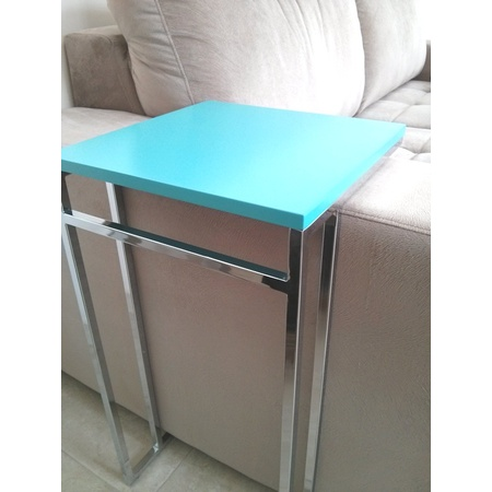 Mesa para apoio de sofa amarela - Mesas de sofa ...